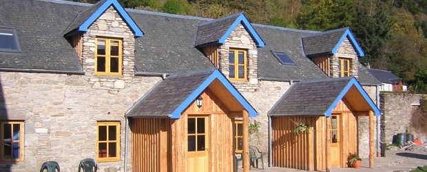 Three newly renovated cosy self-catering cottages with garden & lawns in a sunny position near Aberfeldy, Highland Perthshire, Scotland with under-floor heating, wi-fi and flat screen  DVD players. Great drying room and […]